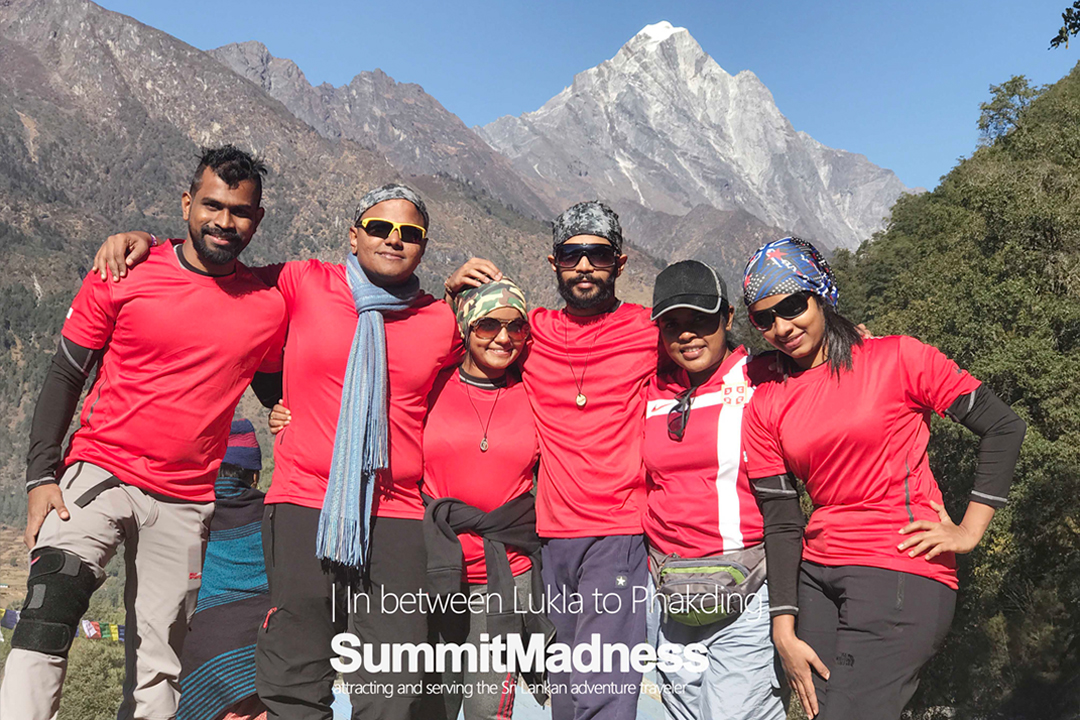 SummitMadness Everest base camp team 2016