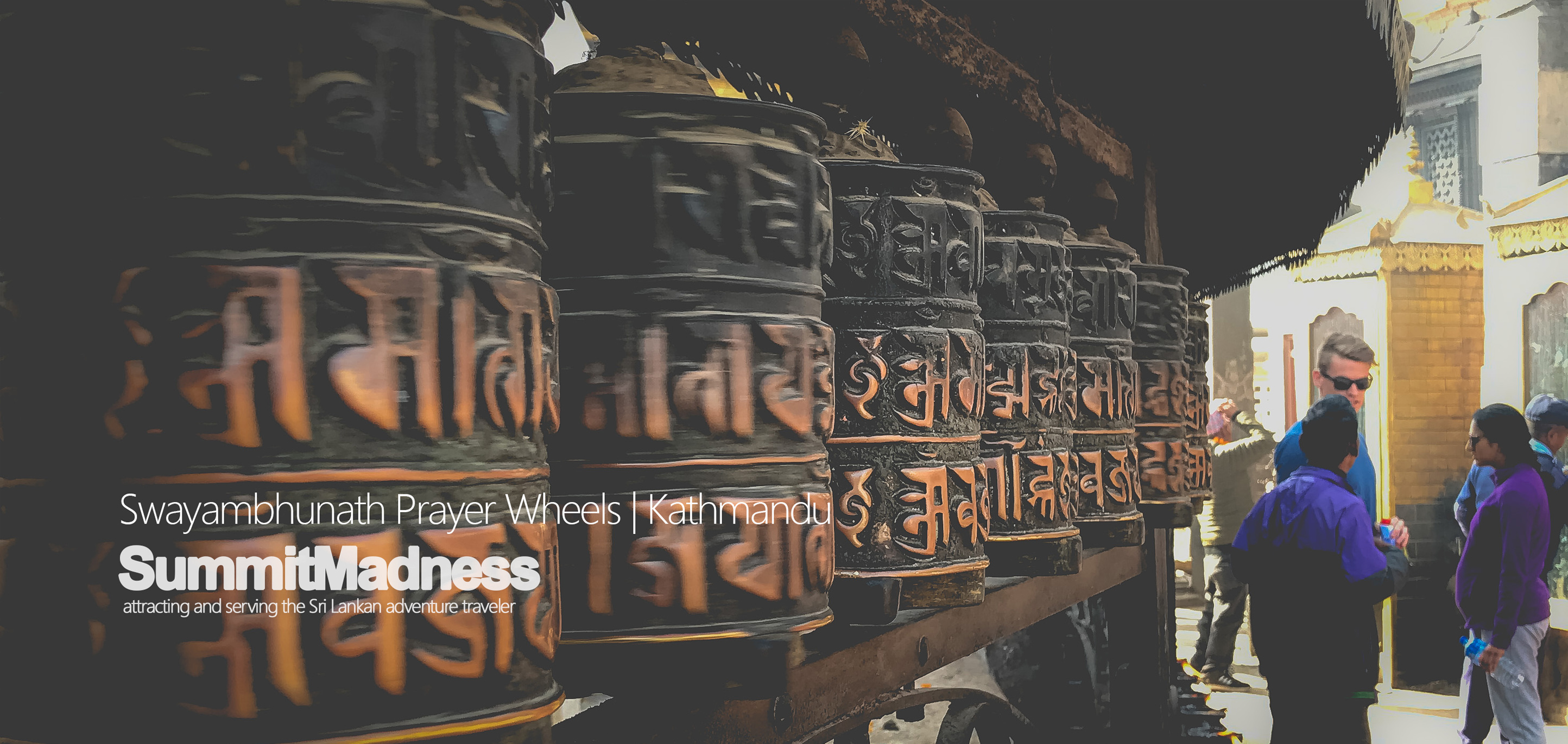 Prayer wheels - Swayambhunath