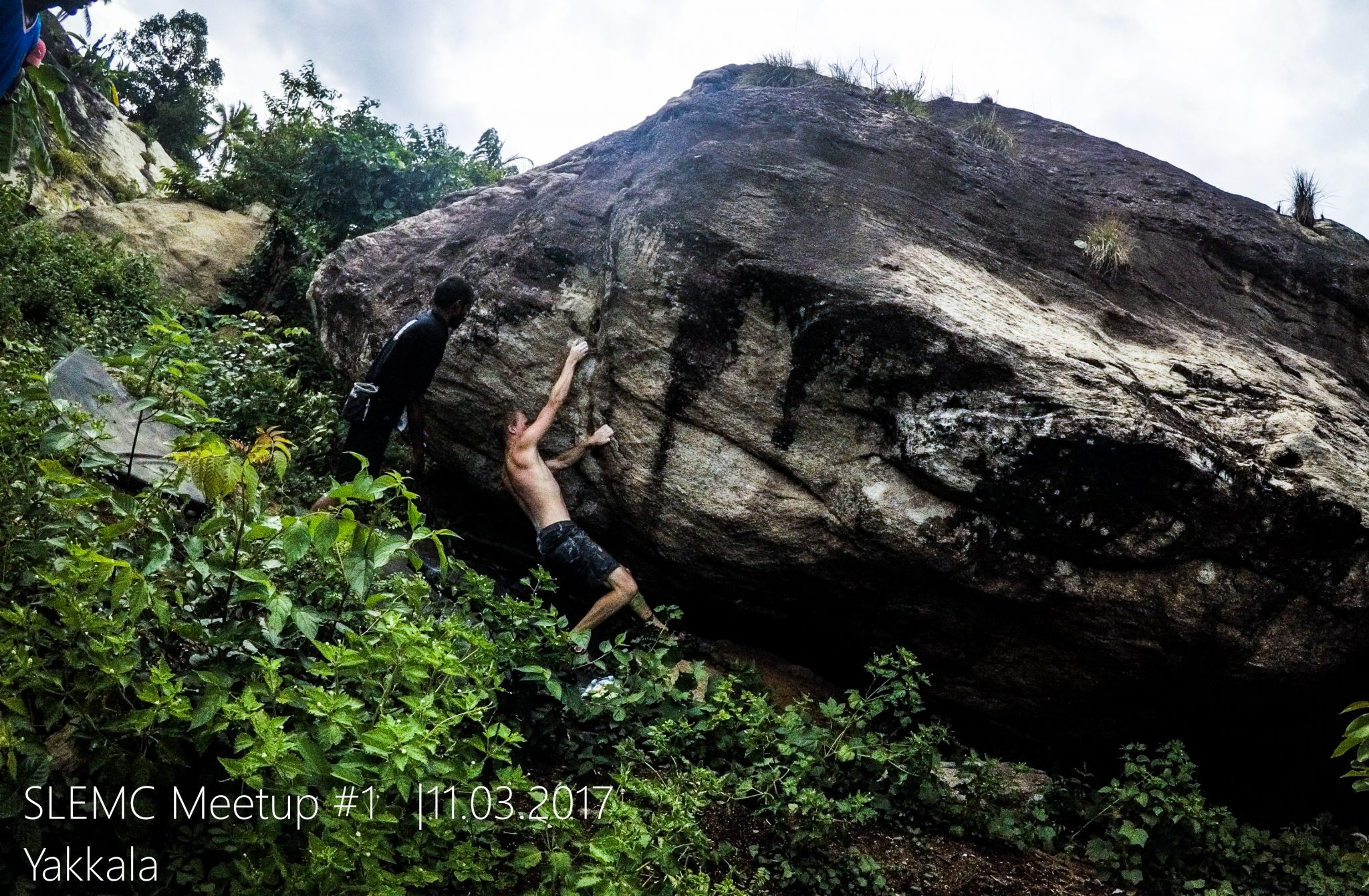 Rock climbing/ bouldering in Sri Lanka - Climbers meet up