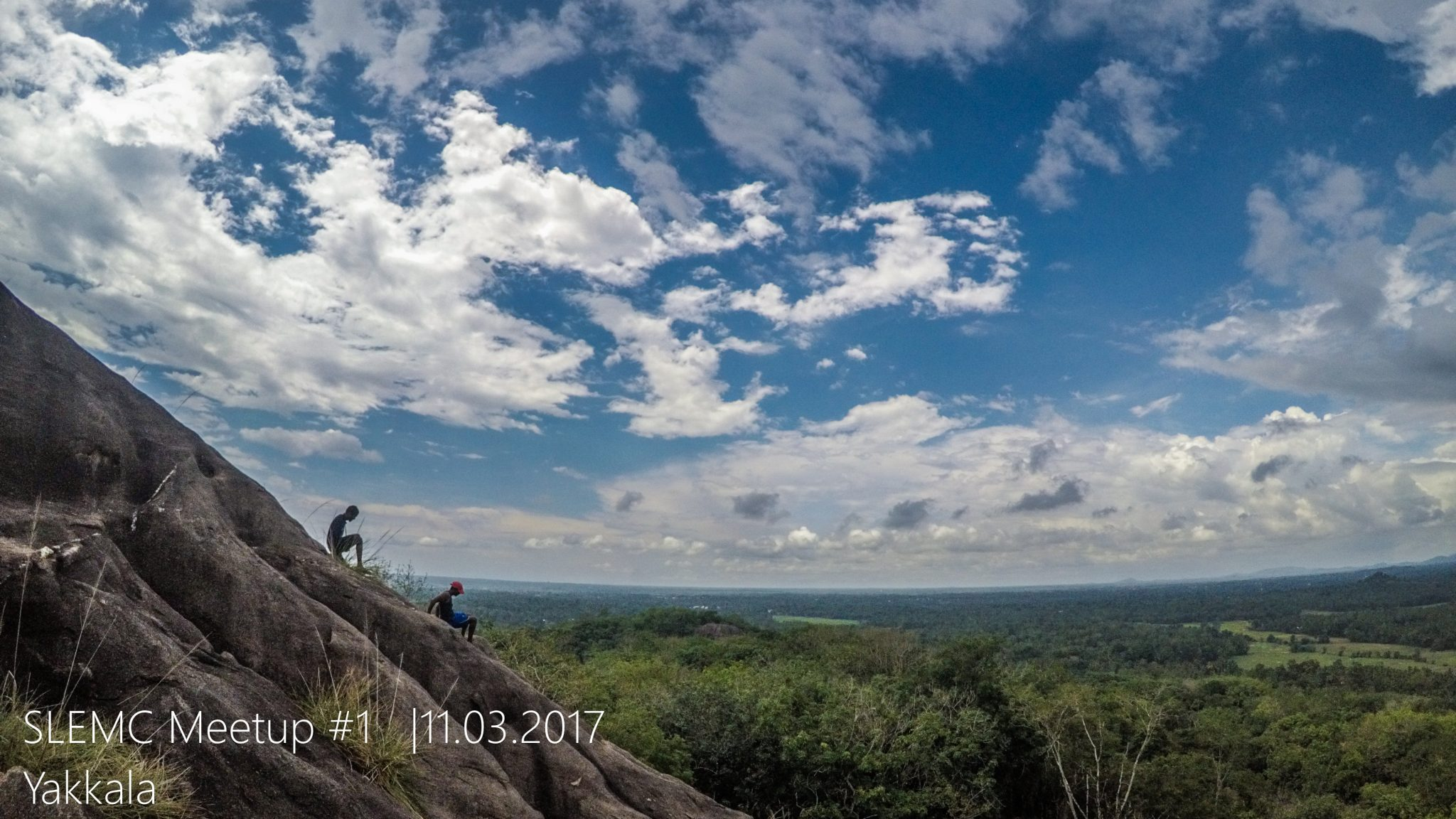 Climbers meet up Sri Lanka